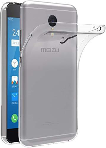 X-Dision Funda Transparente para Meizu M3 Note, Flexible Slim Shock Absorption TPU Funda de Silicona, Cubierta Protectora Superior Ligera y Antiarañazos Económico y Práctico