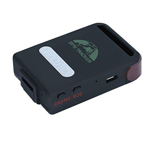 Incutex GPS Tracker TK104 GPS localizzatore inseguitore spia per persone e veicoli – antifurto