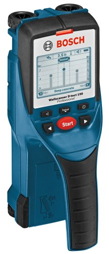 BOSCH D-Tect 150 Wall and Floor Scanner with Ultra Wide Band Radar Technology