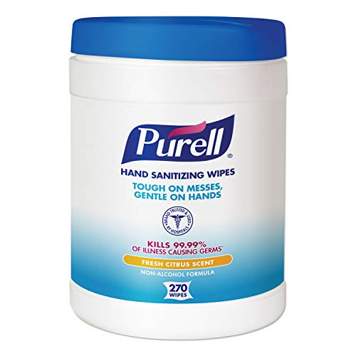 Purell Sanitizing Wipes 270 Count 6 x 6.75 inches
