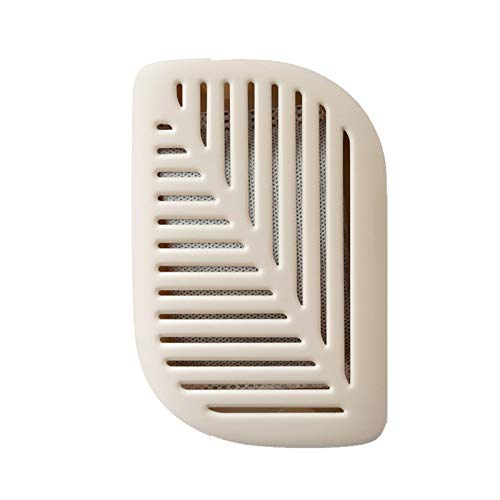 Delisouls Eliminador de olores natural, forma de hoja verde para nevera, purificador de aire, desodorante de carbón, ambientador elimina olores
