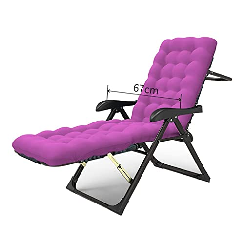 Sywlwxkq Folding Reclining Chairs, Sun Lounger, Zero Gravity Chairs, Lounger Deck Chairs, Beach Chairs, Super Width 67CM, Beach Patio Garden Camping (Color : 11)