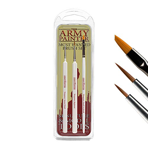 The Army Painter | Most Wanted Wargamer Brush Set