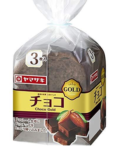 ヤマザキ チョコゴールド 3枚切り×4斤セット (小型)山崎製パン横浜工場製造品