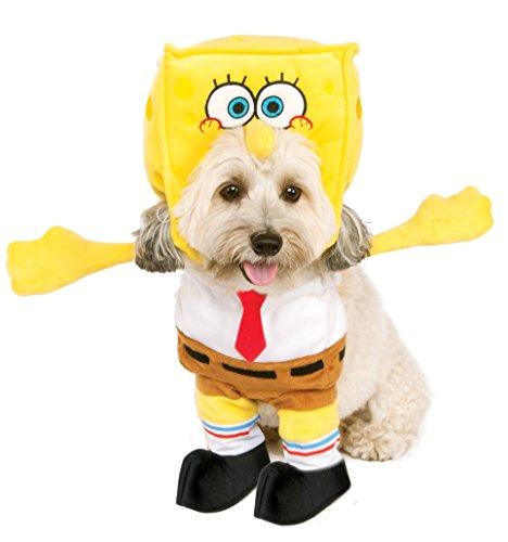Spongebob kostuum met capuchon voor honden