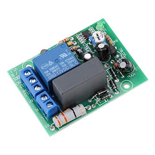 Rele Temporizzato, Akozon Modulo Relè Temporizzatore Timer Module AC220V Delay Timer Switch Modulo di Ritardo Accensione/Uscita Timer Regolabile(0~10H)