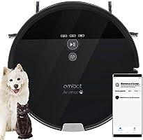 AMIBOT Animal XL H2O Connect - Robots Aspirateurs et laveurs spécial Poils d'animaux