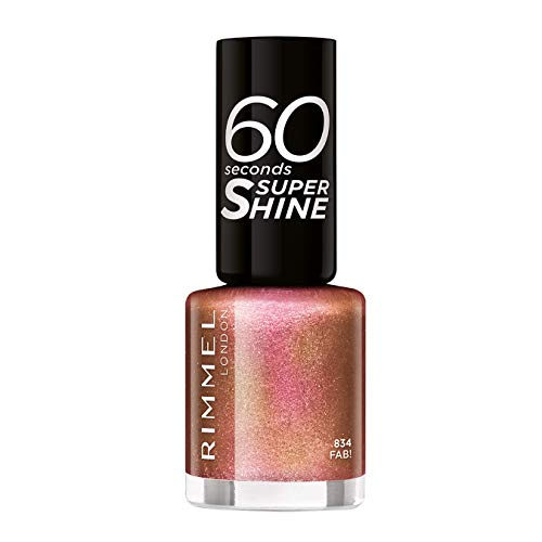 Rimmel 60 Seconds Glitter Nagellack, Fab