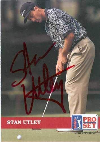 Find Cheap Stan Utley autographed Trading Card (Golf) - Autographed Golf Equipment