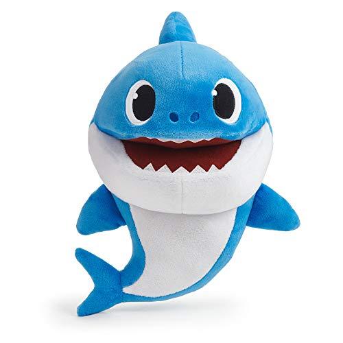 Boti 36477 Baby Shark - Títere de Mano (27 x 21 x 14 cm, poliéster Suave, Funciona con Pilas)