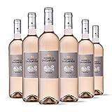 Domaine de la Clapiere la Muette - IGP Pays d'Oc - Vin Rosé - Millésime 2020 - Terra Vitis - Lot de 6 bouteilles x 75 cl