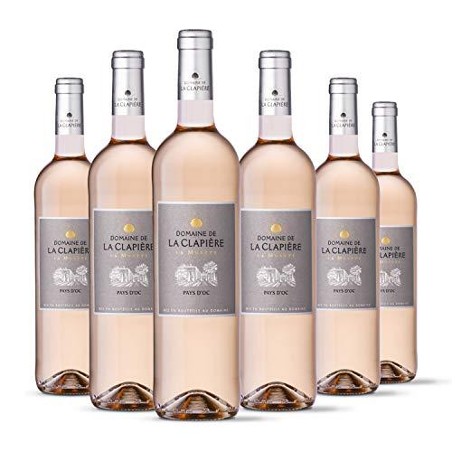Domaine de la Clapiere la Muette - IGP Pays dOc - Vin Rosé - Millésime 2020 - Terra Vitis - Lot de 6 bouteilles x 75 cl