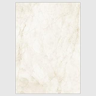 DIN A4 100 Blatt Marmorpapier Safran-gelb 150 g-Papier Crema Mora