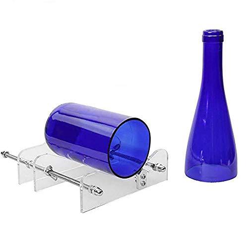 parfait pour couper les bouteilles en verre 1x Coupe-verre avec 6 molettes de rechange en acier les min/éraux les vitres