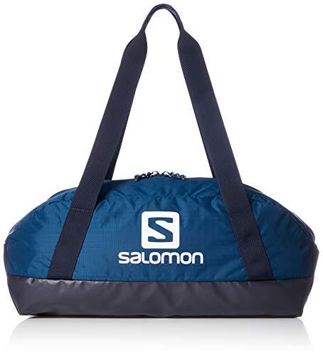 Salomon, Sac de Sport/Voyage, Moderne et Spacieux, Capacité 25L, PROLOG 25 BAG, Bleu (Poseidon)/Noir (Night Sky), NS, LC1083700