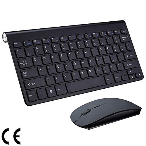 2.4G Draadloos Toetsenbord En Muis Mini Multimedia Toetsenbord Muis Combo Set Voor Notebook Laptop Desktop PC TV Kantoorbenodigdheden