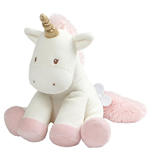 Baby GUND Luna Unicorn Keywind Musical Lullaby Stuffed Animal Sound Plush, 9""