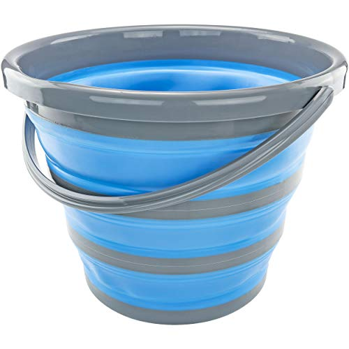 Collapsible Bucket Deluxe, Blue