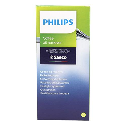 Philips CA6704/10 ORIGINAL Reinigungstabletten Entkalker Fettlöser Reinigertabletten Kaffeemaschinenreinigungstabs Kaffeemaschinenreiniger Reinigungstabs 6 Stück Kaffeemaschine Espressomaschine