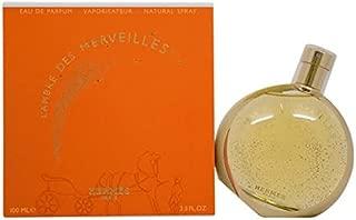 Hermes L'Ambre des Merveilles Eau de Parfum Spray for Women, 3.3 Ounce