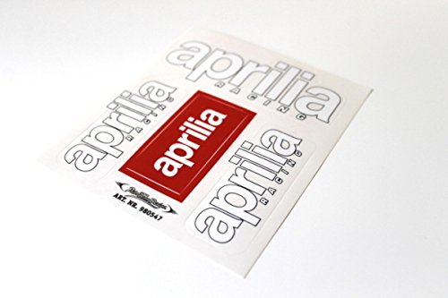 Aufkleber Sticker Satz Set Aprilia SR RS RSV 50 125 Roller Motorrad #3