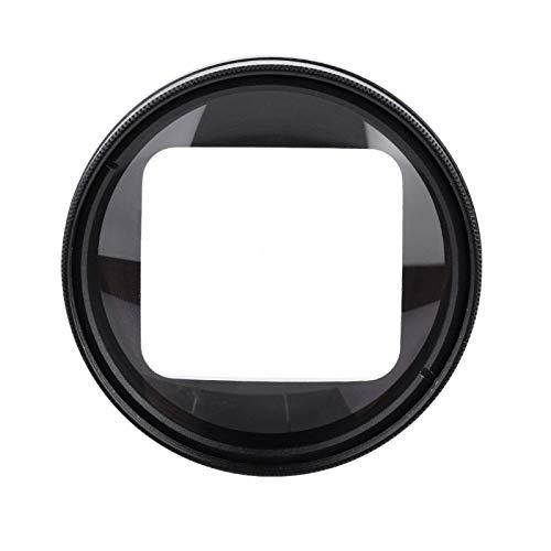 DAUERHAFT Lente Macro Negra para Primeros Planos con el Accesorio de cámara con Filtro de Buceo, para cámara de acción GoPro Hero 6/5 Adición de Tomas ampliadas de Primer Plano