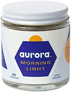 Sponsored Ad - Aurora - Morning Light - Find Focus and Energy in The Morning with This Natural Supplement. Ashwagandha, Gu...
