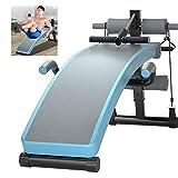 LINGYUN Family Indoor Fitness Workout Bank, Multifunktionales Rückenbrett, Sitzbrett mit hoher Elastizität, Hantelbank für Bauchhantel