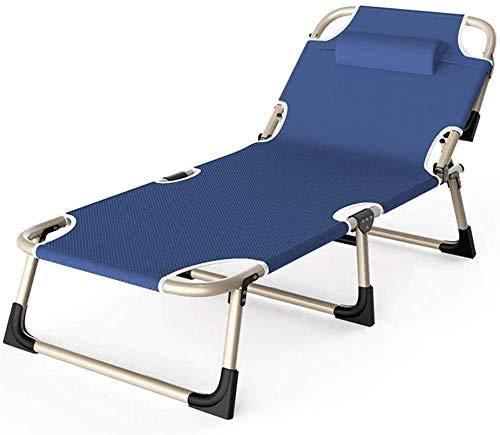 DAGCOT Sillas silla reclinable plegable Silla plegable Salón Salón silla ajustable reclinable...