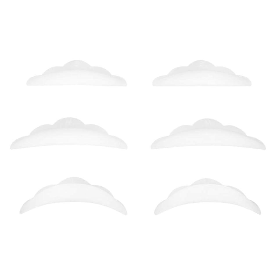 法的詩インシュレータPerfeclan 3ペア まつげパーキングパッド シリコン アイラッシュ リフトパーマ カーラーパッド