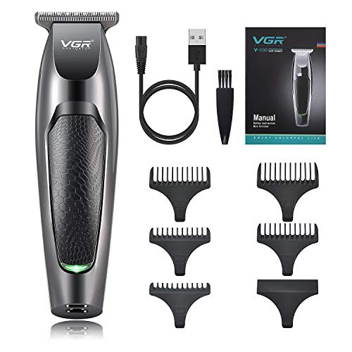 Electric Hair Clippers for Men Professional Cordless Clippers for Hair Cutting T-Outliner Beard Trimmer Barbers Haircut Grooming Kit Rechargeable, Stainless T-Blade Trimmer for Stylists,Home Daily Use
