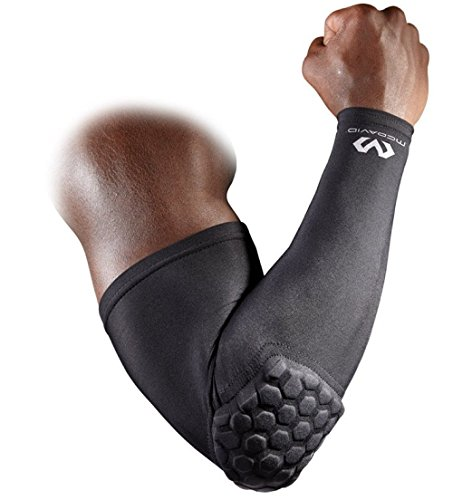 Manicotto Gomitiera Mc DAVID Hex Shooter Arm Sleeve NBA Basket Running Ciclismo (M)