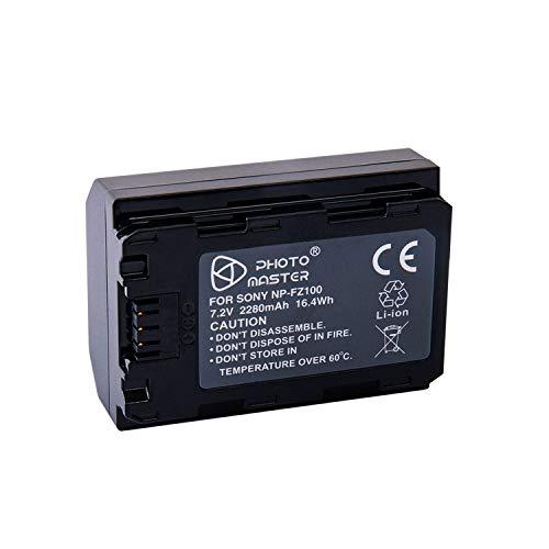 PHOTO MASTER NP-BX1 Batería para Sony DSC-HX60,DSC-HX350,DSC-HX400V,DSC-HX350, DSC-HX90, DSC-HX90V, DSC RX100, RX100 II, RX100 III, RX100 V, RX100 IV, WX350, HX400, HX60V, HX90, HDR-AS10,HDR-AS30V
