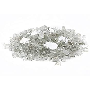 Margo Garden Products 1/4  25lbs Dragon Glass 25 lb Crystal