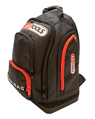 KS Tools 850.0336 - Sac à dos - Gamme TOOLBAG - Avec Sangle de poitrine - Rangements pratiques et nombreuses poches - Tissu ultra-résistant
