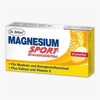 Dr. Böhm Magnesium Sport Brausetabletten 40 Stk (40 ST)