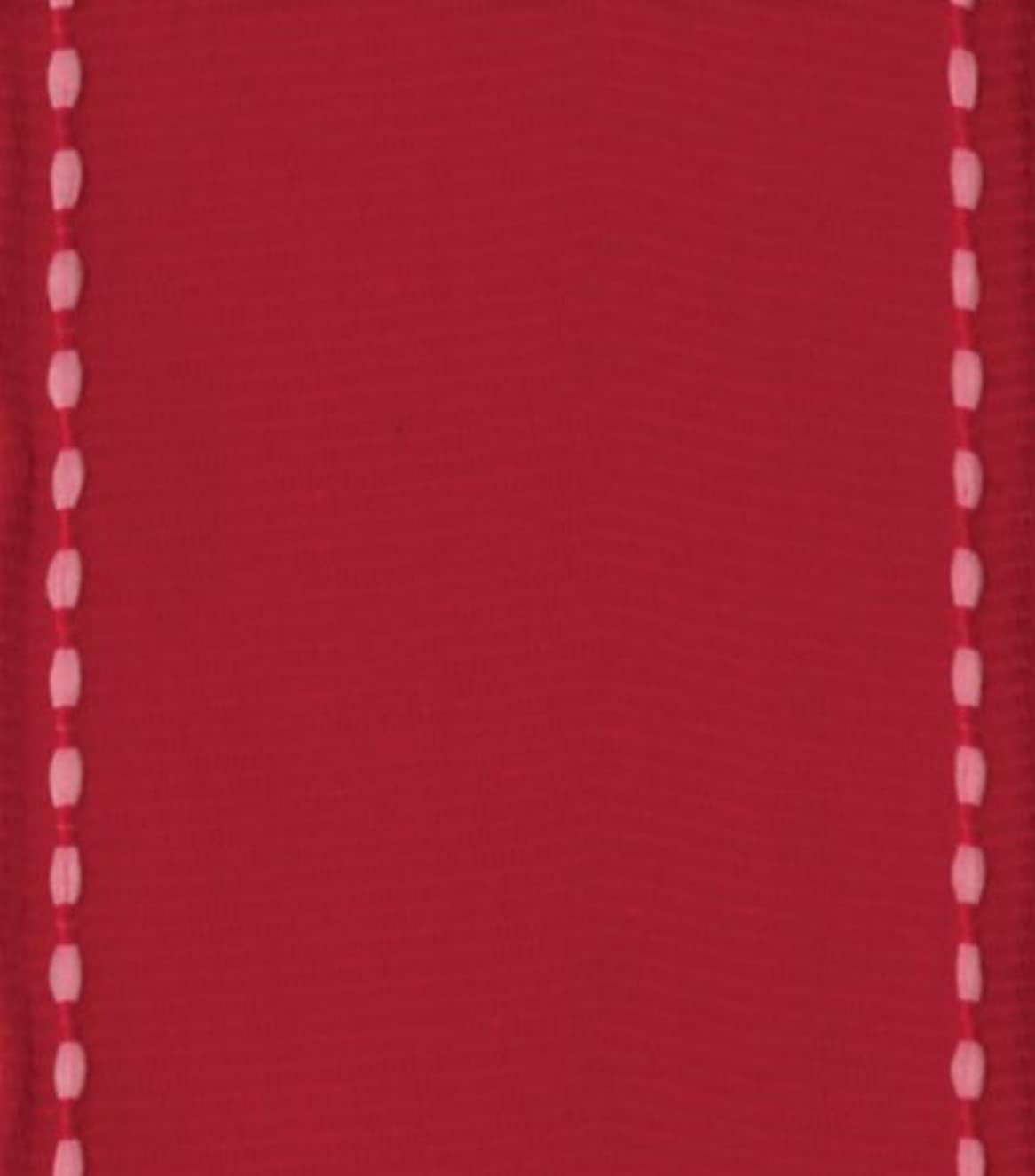 Entertaining with Caspari Wired Ribbon, Grosgrain, Red
