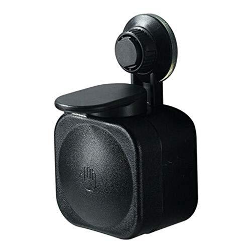 Dispensador de jabón sin contacto, ventosa para montar en la pared, dispensador de jabón manual impermeable para cocina, baño, casa, hotel, restaurante