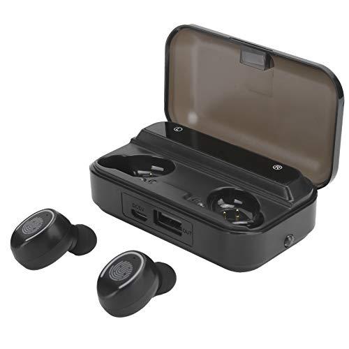 DAUERHAFT Estuche de inducción magnética Bluetooth para Auriculares inalámbricos Verdaderos, para Deporte(Sanxian)
