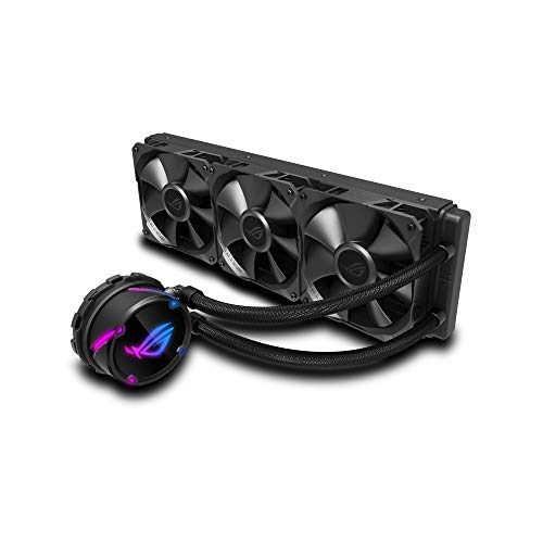 ASUS ROG Strix LC 360 - Sistema de refrigeración líquida de CPU, Aura Sync RGB, Tubo de Goma Reforzado de 38 cm…