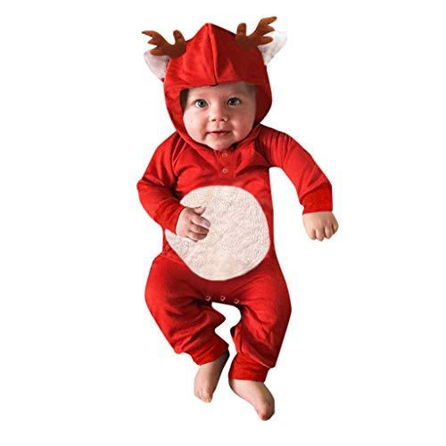 Monos Niños Invierno Prendas Navidad Ropa niñas Unisex Bebe Navidad Regalo Conjuntos Estilo Navideño por Yesmile