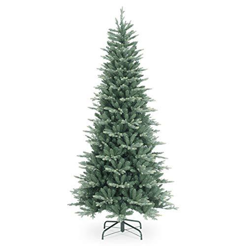 Abeto XL Artificial Praga, Azul, 245cm, Ø120cm - Árbol de Navidad Grande/Árbol navideño sintético - artplants