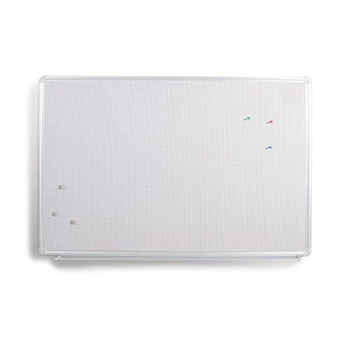 MOB Profi-Duo-Memoboard - 60x45cm - für Magnete und Pinns, mit Alurahmen