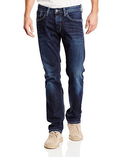 Pepe Jeans Herren Straight Leg Jeans Cash, Denim (11oz Streaky Stretch Dk) , 40W / 34L