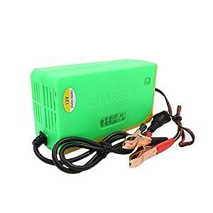 LMIAOM 001 12V 6A Motocicleta Bicicleta eléctrica 20-60AH Cargador de batería de Plomo ácido Cargador Inteligente de Pulso Herramienta de reparación de Piezas de Accesorios