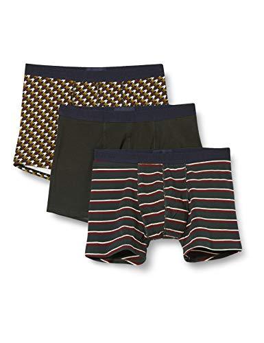 Scotch & Soda Herren Klassische Boxershorts aus Baumwolle im 3er-Pack Boxer Shorts, Combo A 0217, XL