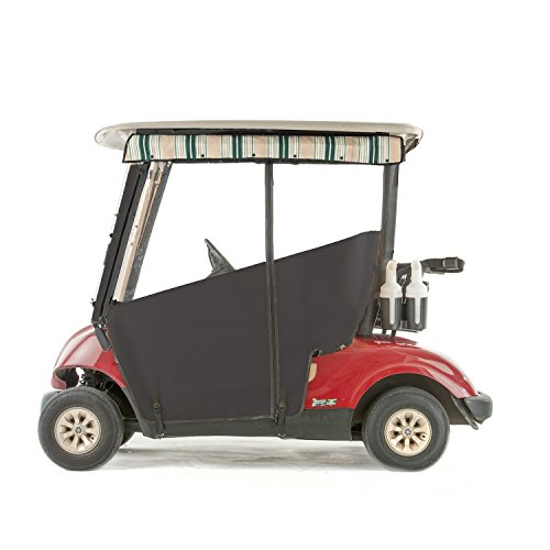 Yamaha G29 Drive Golf Cart PRO-TOURING Sunbrella Track Enclosure - Black