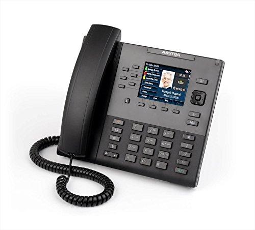Mitel 80C00002AAA-A - Teléfono IP (Negro, Terminal con conexión por Cable, LCD, 320 x 240 Pixeles, 1 Pixeles, 8,89 cm (3.5'))