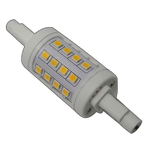 R7s LED Strahler 78mm 6 Watt warmweiß dimmbar 32x SMDs Leuchtmittel Lampe Halogen Stab j78 Fluter Standleuchte Brenner Scheinwerfer