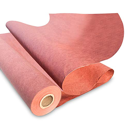 Made in USA- Pink Butcher Kraft Paper Roll 17.75' x 1200' (100ft), Food Grade Butchers Peach Paper, Ideal for BBQ Smoking Wrapping of Meat and Brisket, All Natural Unwaxed, Unbleached, Uncoated
